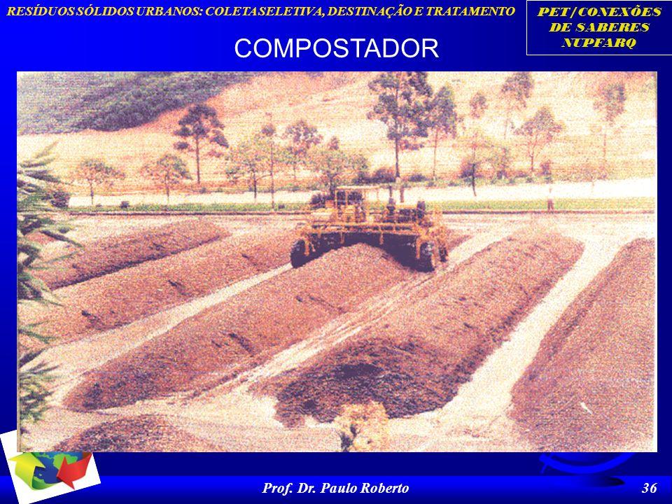 COMPOSTADOR Prof. Dr. Paulo Roberto