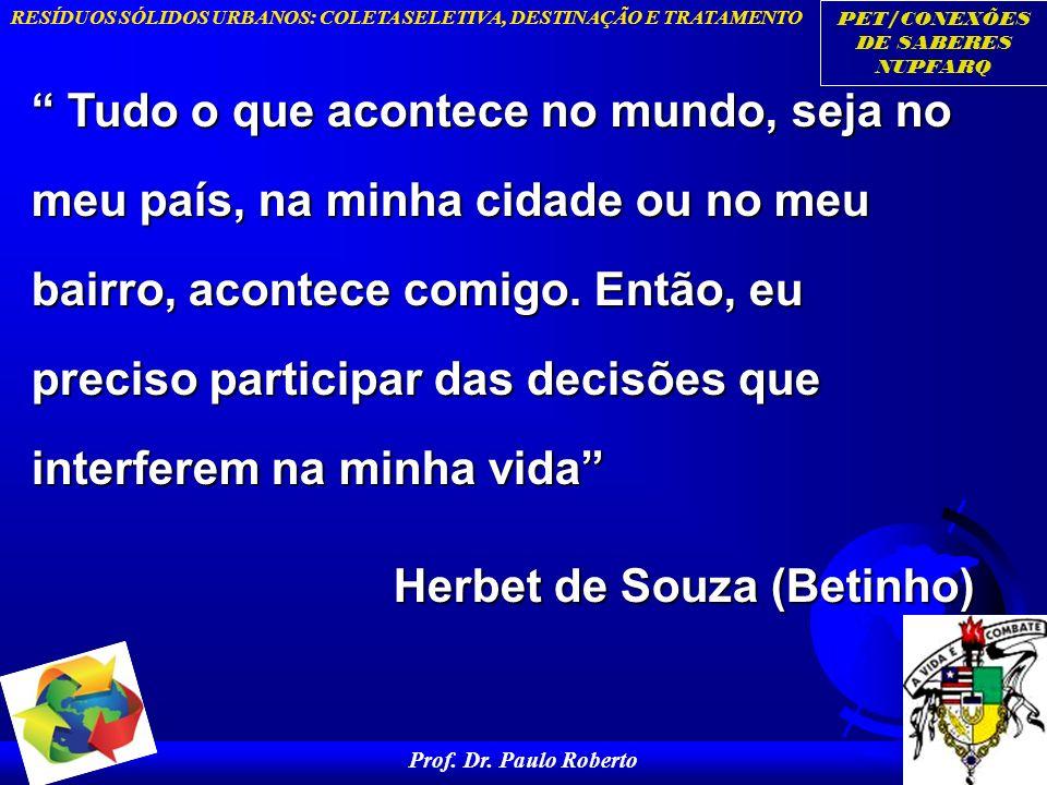 Herbet de Souza (Betinho)