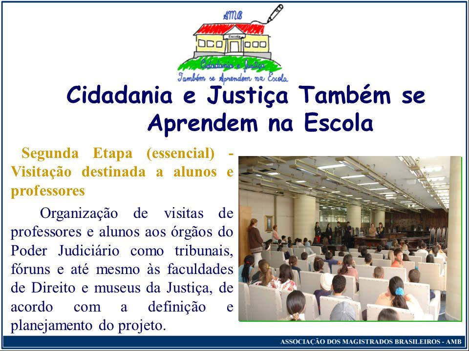 Cidadania e Justiça Também se Aprendem na Escola