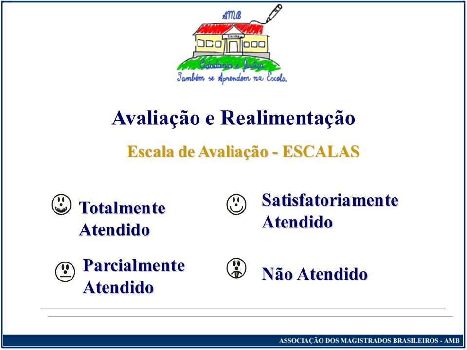 Avaliação e Realimentação Escala de Avaliação - ESCALAS