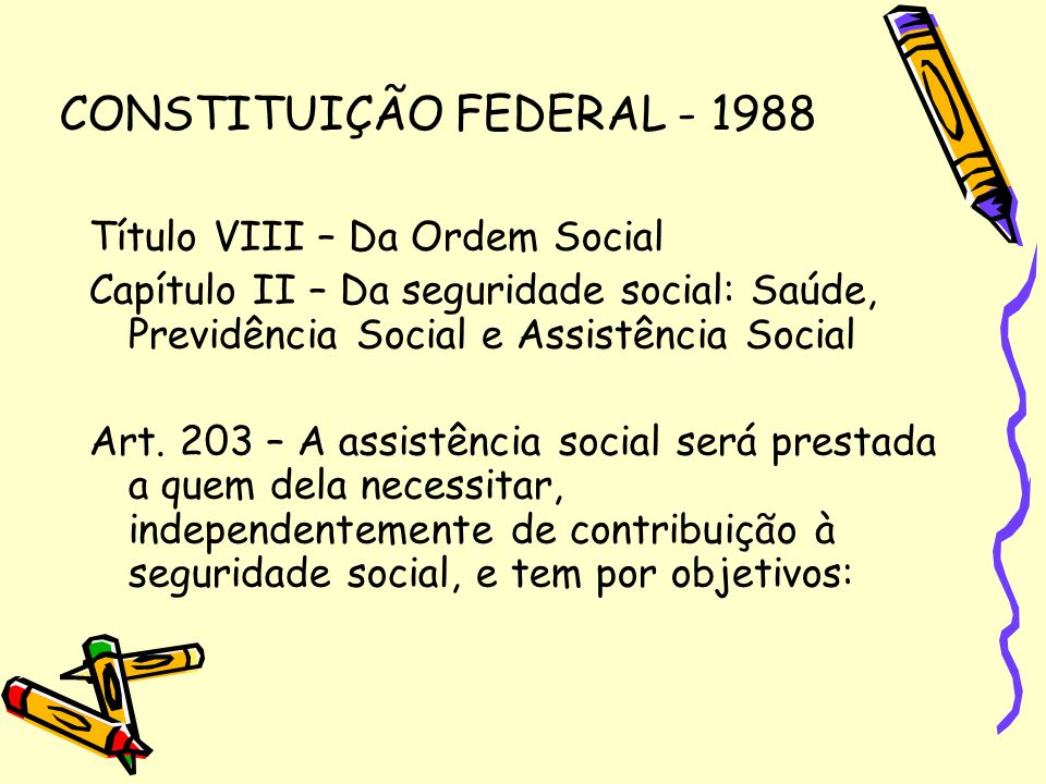 CONSTITUIÇÃO FEDERAL - 1988
