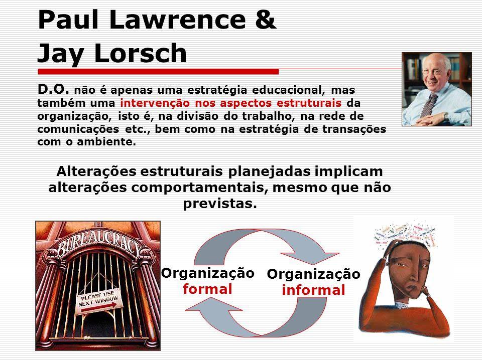 Paul Lawrence & Jay Lorsch