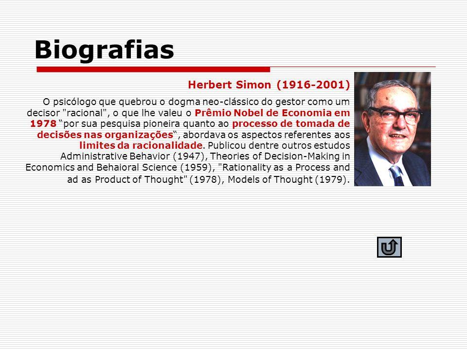 Biografias Herbert Simon (1916-2001)
