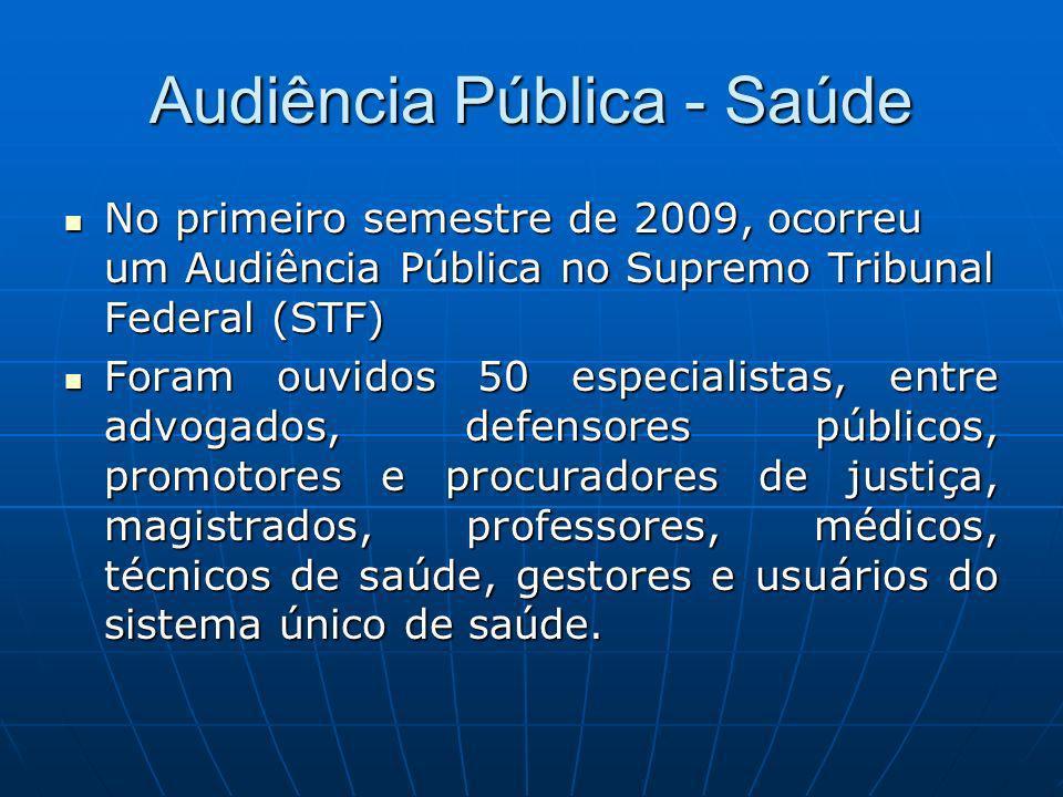 Audiência Pública - Saúde