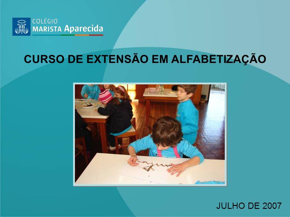 CURSO DE EXTENSÃO EM ALFABETIZAÇÃO