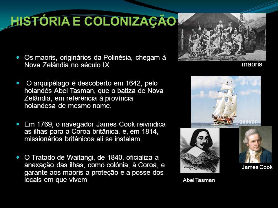 HISTÓRIA E COLONIZAÇÃO