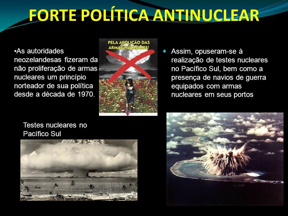 FORTE POLÍTICA ANTINUCLEAR