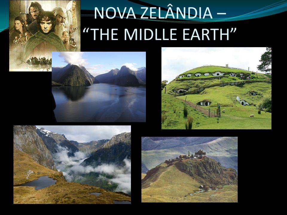 NOVA ZELÂNDIA – THE MIDLLE EARTH