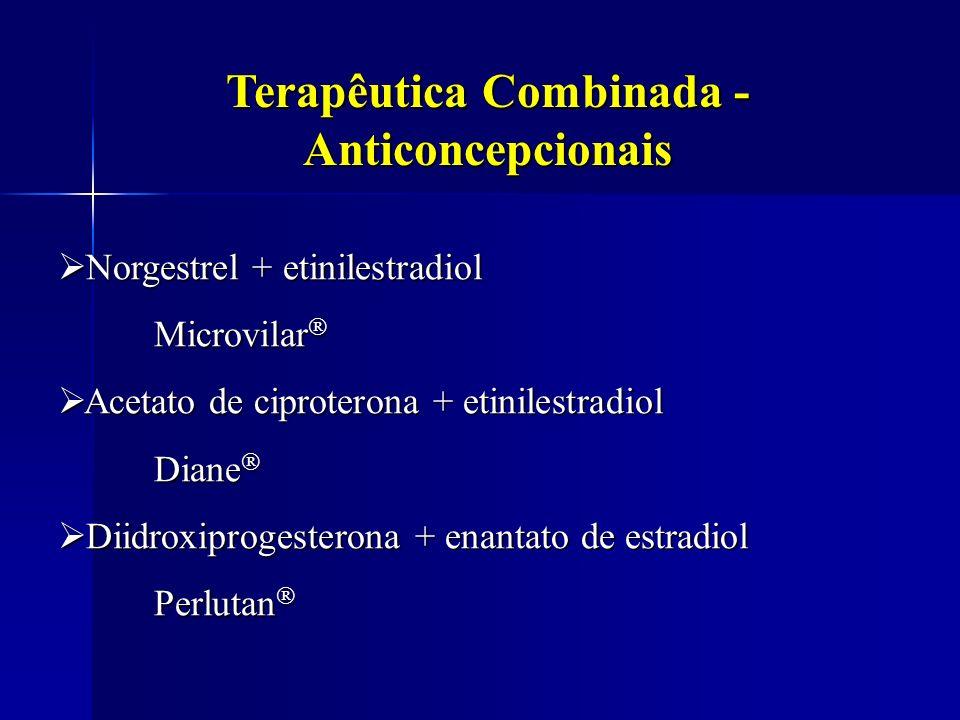Terapêutica Combinada - Anticoncepcionais