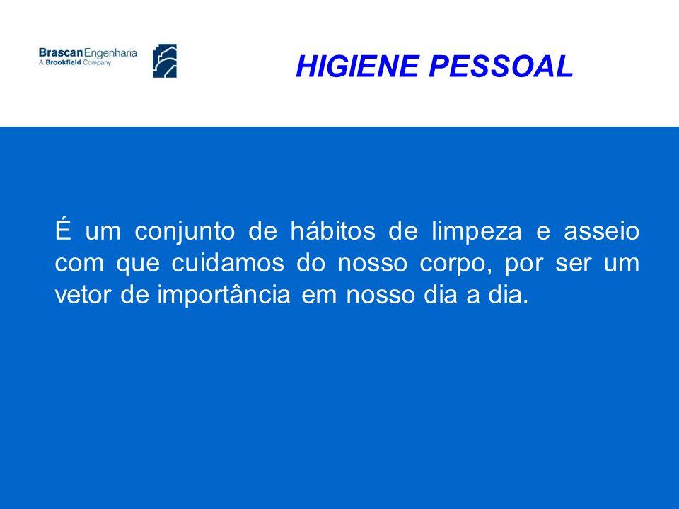 HIGIENE PESSOAL RESOLUÇÃO CONAMA Nº 307.