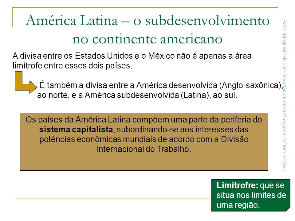 América Latina – o subdesenvolvimento no continente americano
