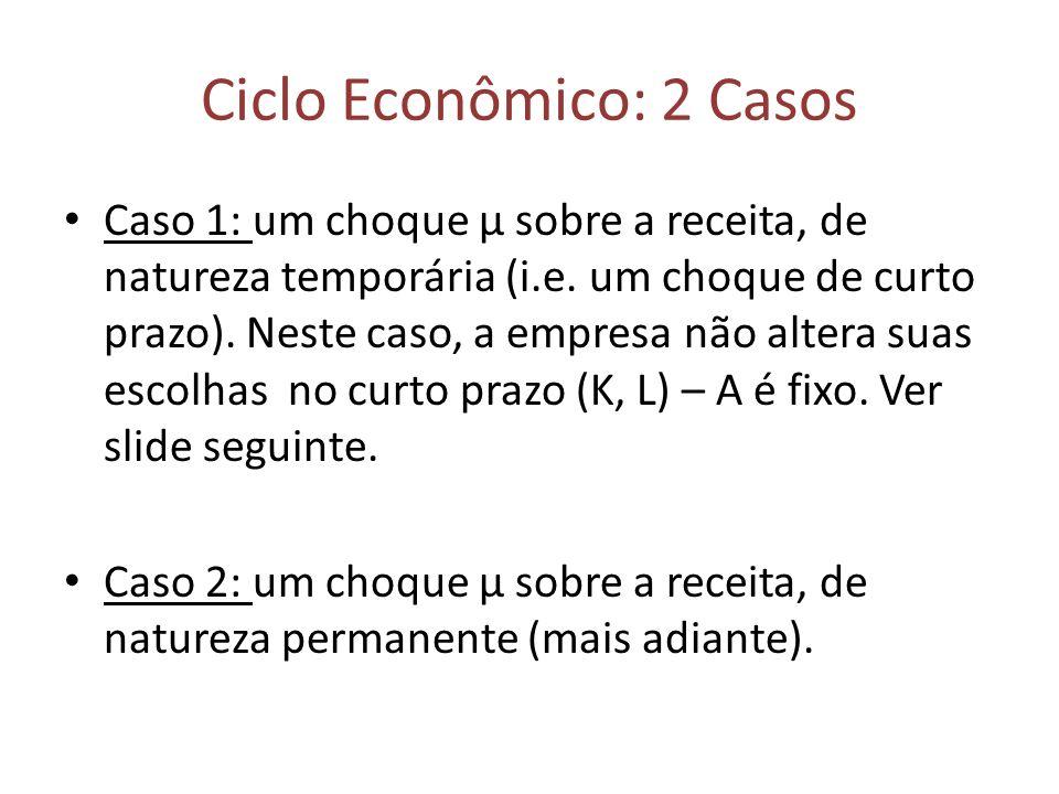 Ciclo Econômico: 2 Casos
