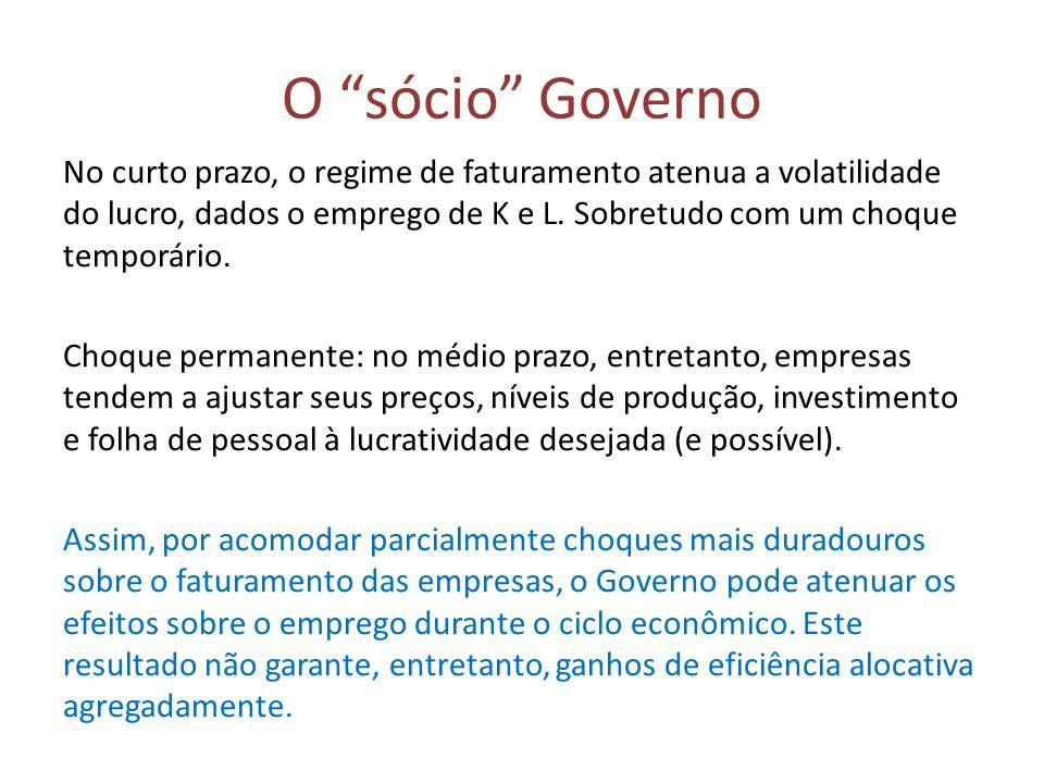 O sócio Governo