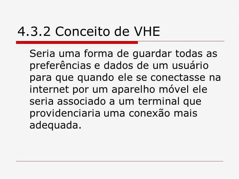 4.3.2 Conceito de VHE