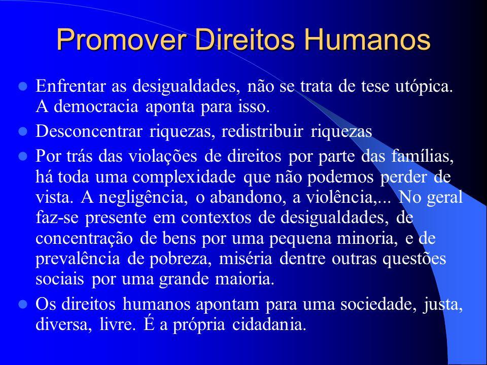 Promover Direitos Humanos