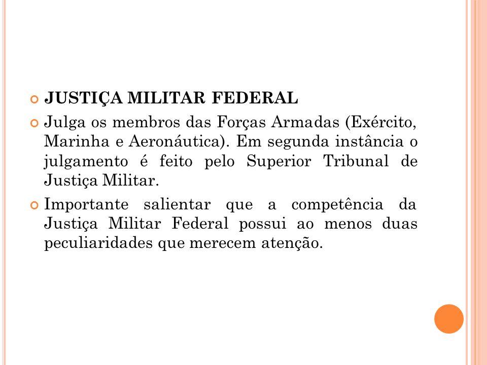 JUSTIÇA MILITAR FEDERAL