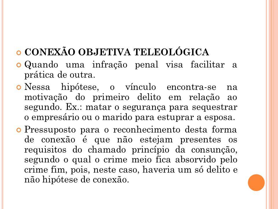 CONEXÃO OBJETIVA TELEOLÓGICA