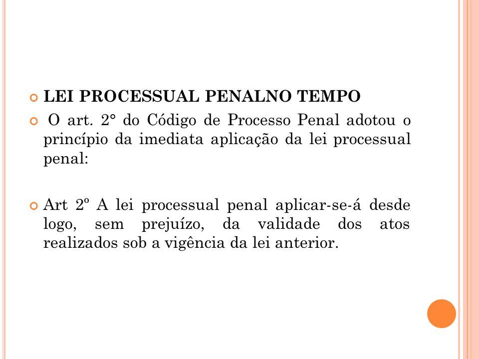 LEI PROCESSUAL PENALNO TEMPO