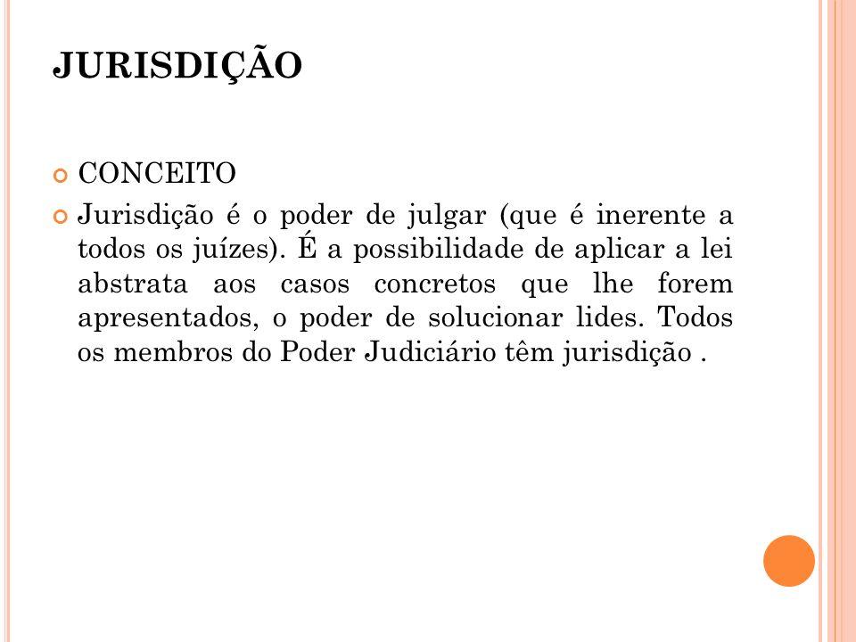 JURISDIÇÃO CONCEITO.