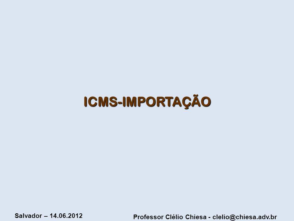 ICMS-IMPORTAÇÃO
