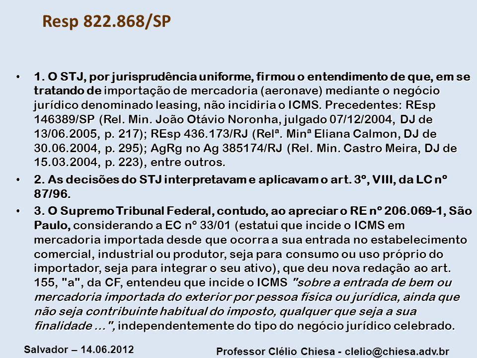 Resp 822.868/SP