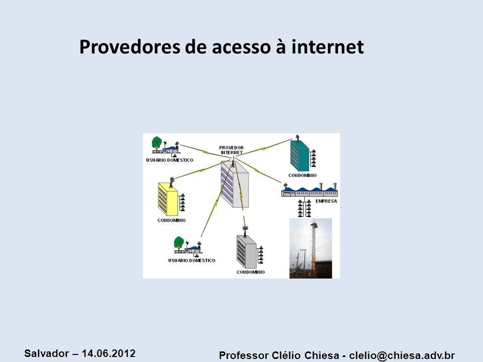 Provedores de acesso à internet