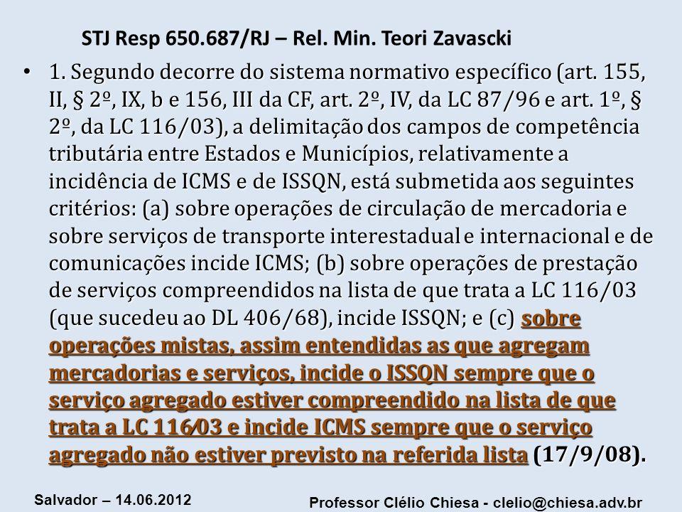 STJ Resp 650.687/RJ – Rel. Min. Teori Zavascki