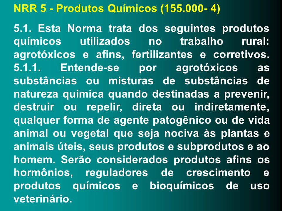 NRR 5 - Produtos Químicos (155.000- 4)