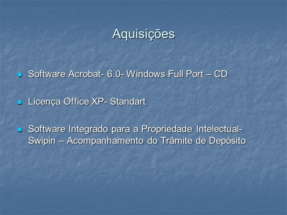 Aquisições Software Acrobat- 6.0- Windows Full Port – CD