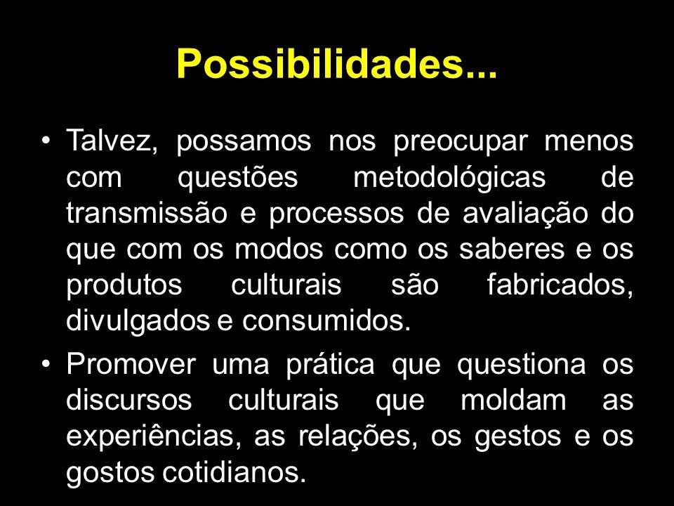 Possibilidades...