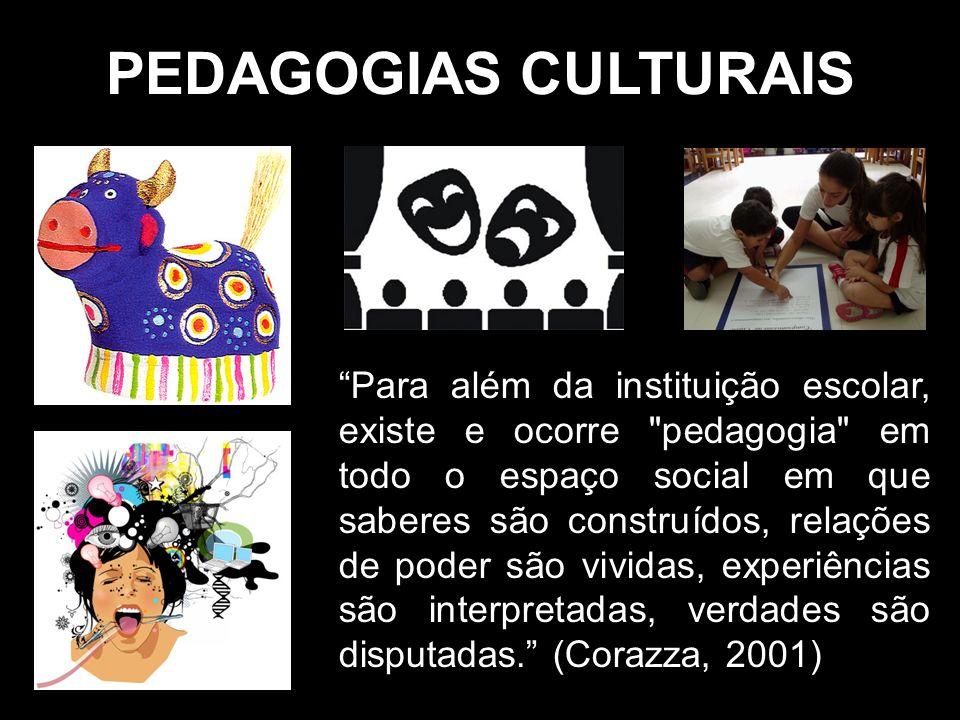 PEDAGOGIAS CULTURAIS