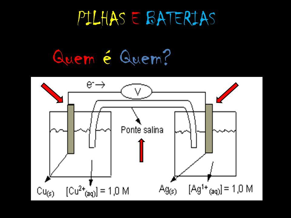 PILHAS E BATERIAS Quem é Quem