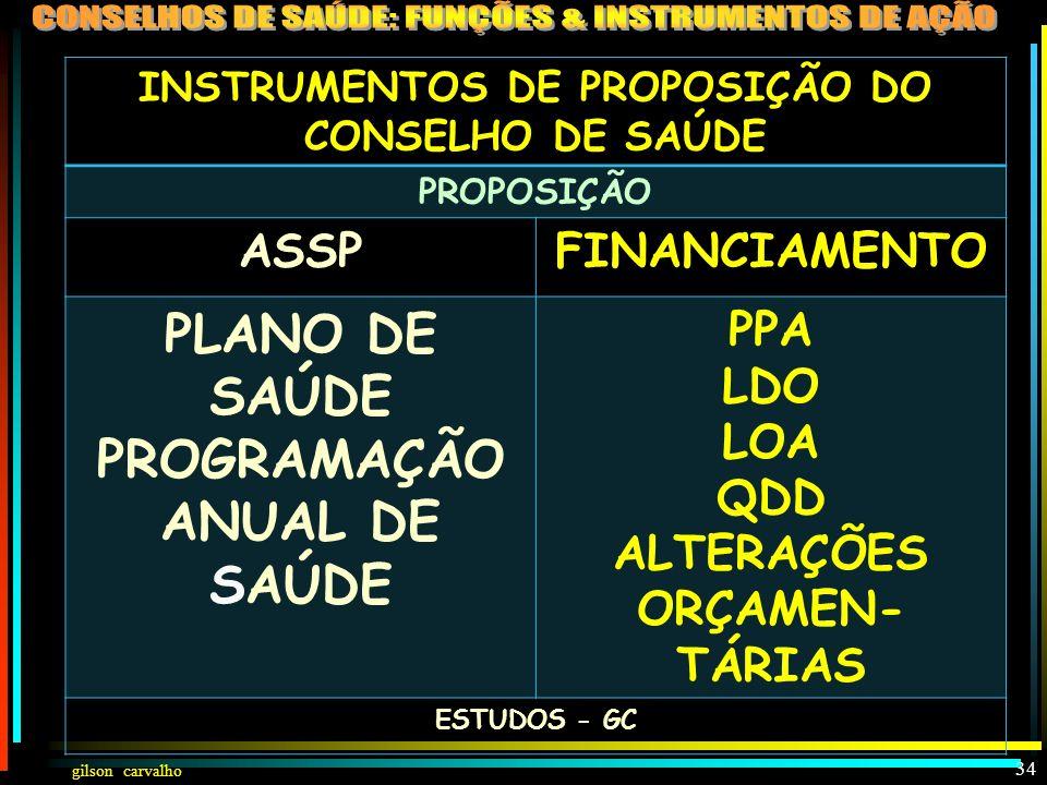 PLANO DE SAÚDE PROGRAMAÇÃO ANUAL DE SAÚDE
