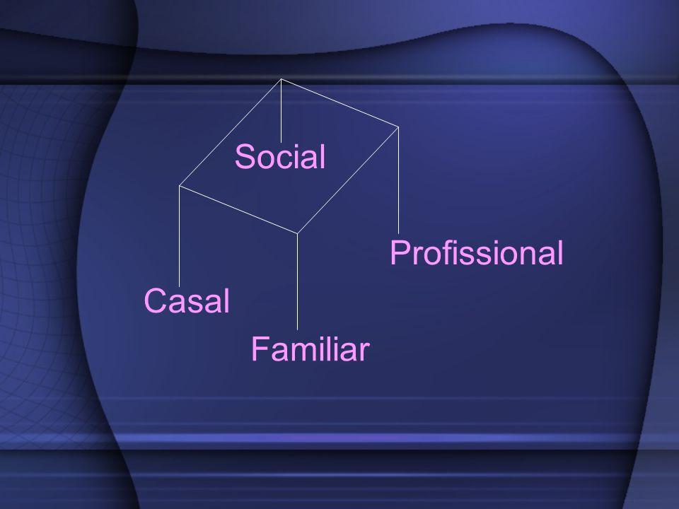 Social Profissional Casal Familiar