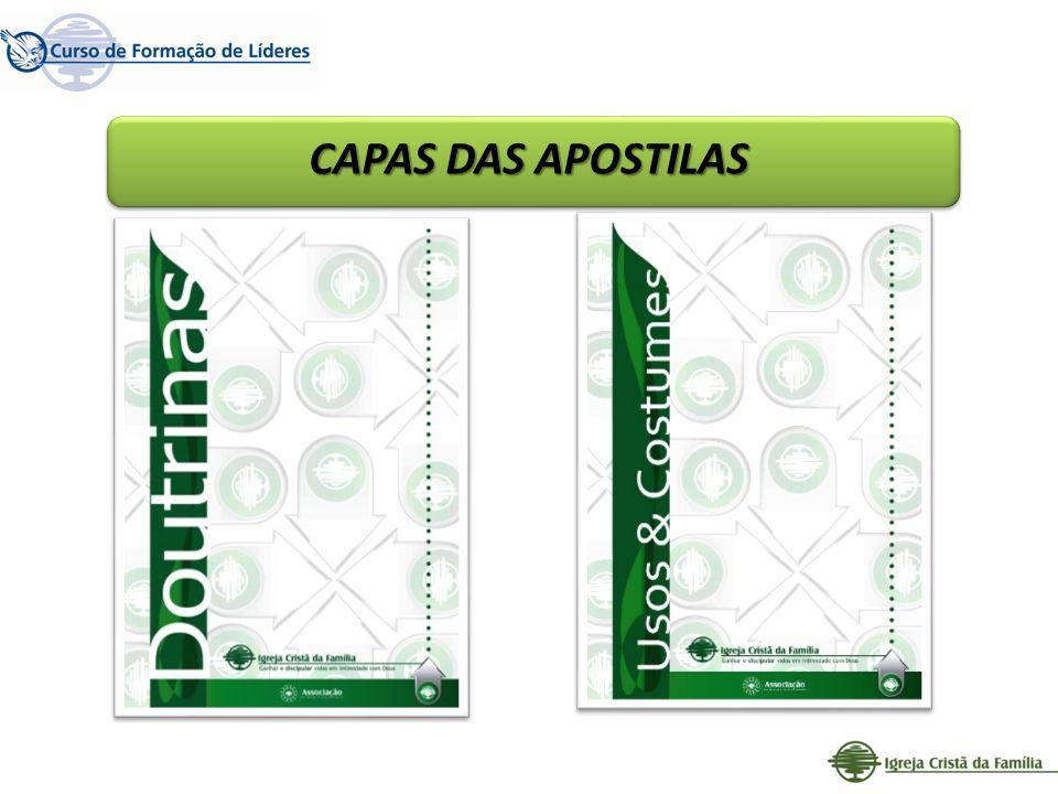 CAPAS DAS APOSTILAS