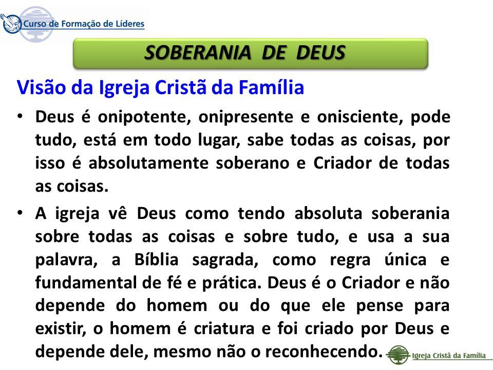Visão da Igreja Cristã da Família