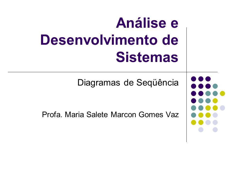 Análise e Desenvolvimento de Sistemas