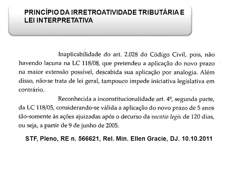 STF, Pleno, RE n. 566621, Rel. Min. Ellen Gracie, DJ. 10.10.2011