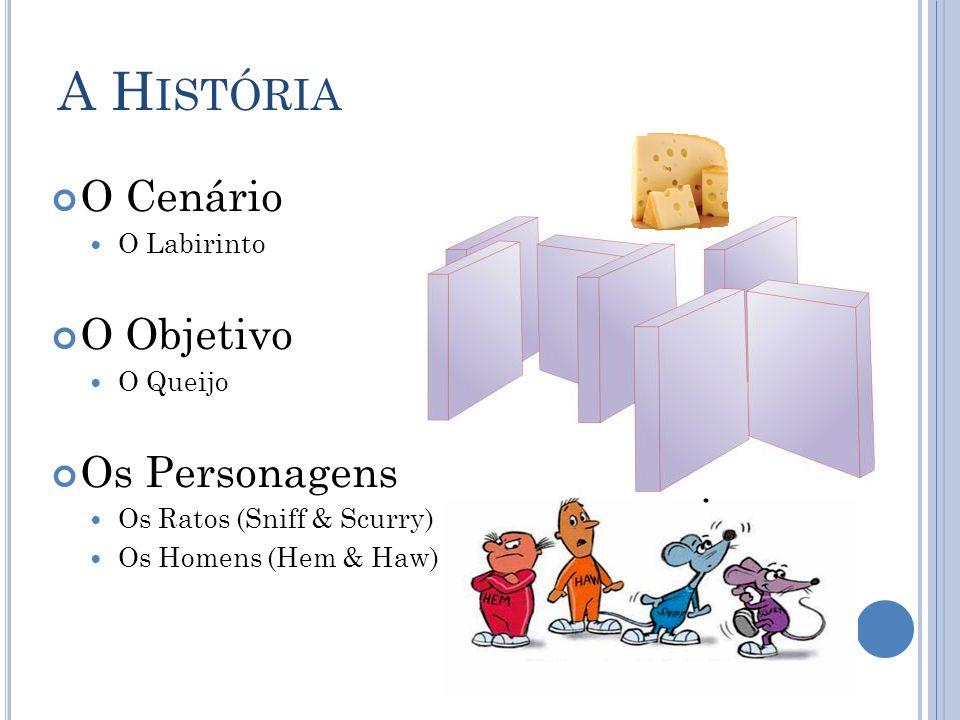 A História O Cenário O Objetivo Os Personagens O Labirinto O Queijo