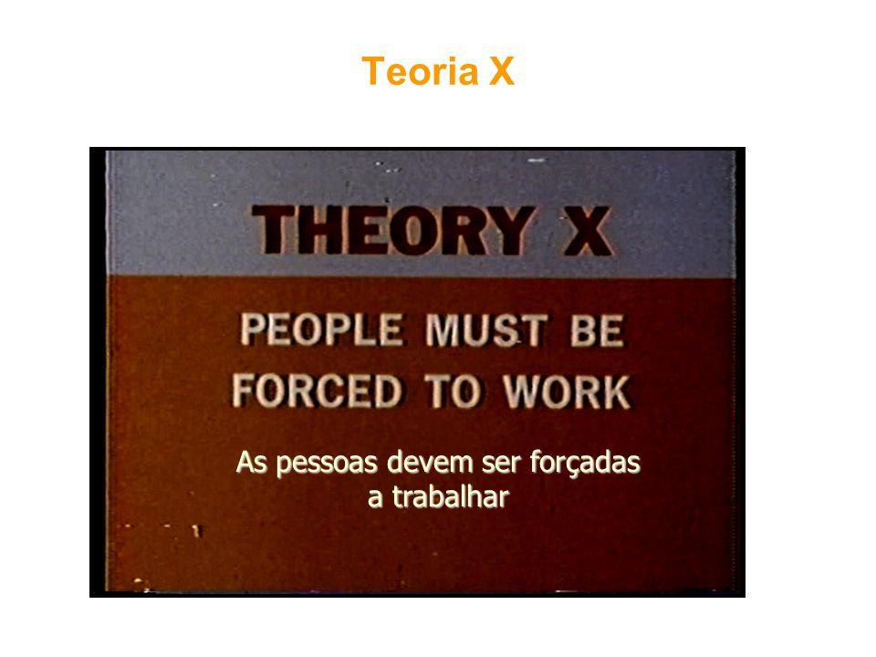 As pessoas devem ser forçadas a trabalhar