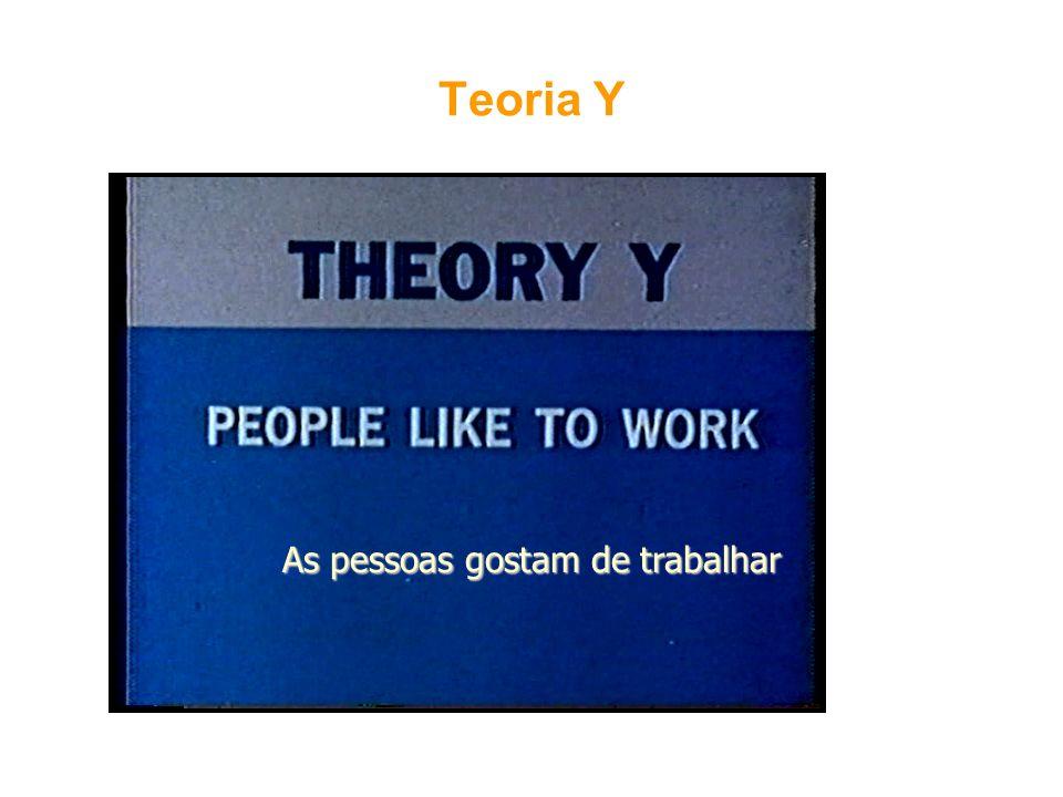 As pessoas gostam de trabalhar