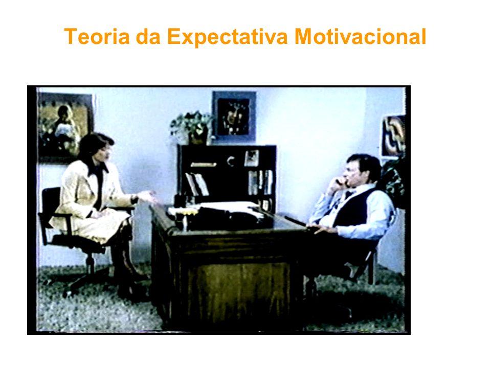 Teoria da Expectativa Motivacional