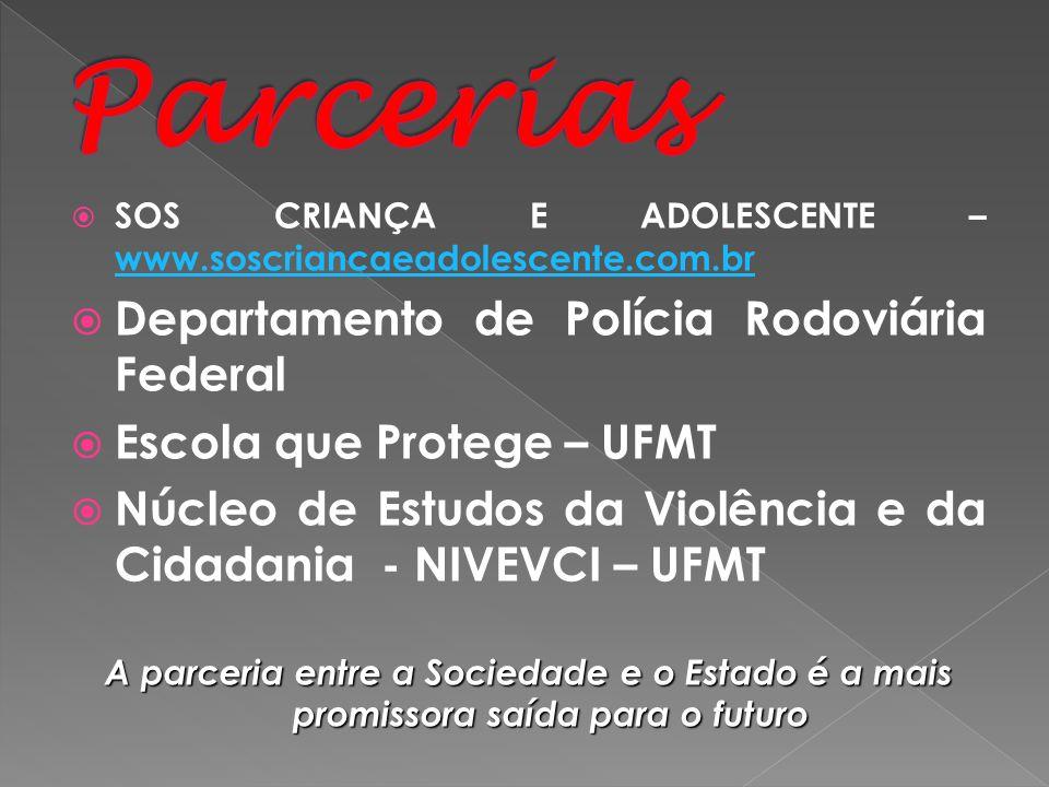 Parcerias Departamento de Polícia Rodoviária Federal