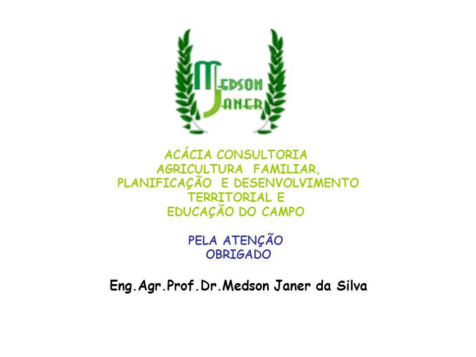 PLANIFICAÇÃO E DESENVOLVIMENTO Eng.Agr.Prof.Dr.Medson Janer da Silva