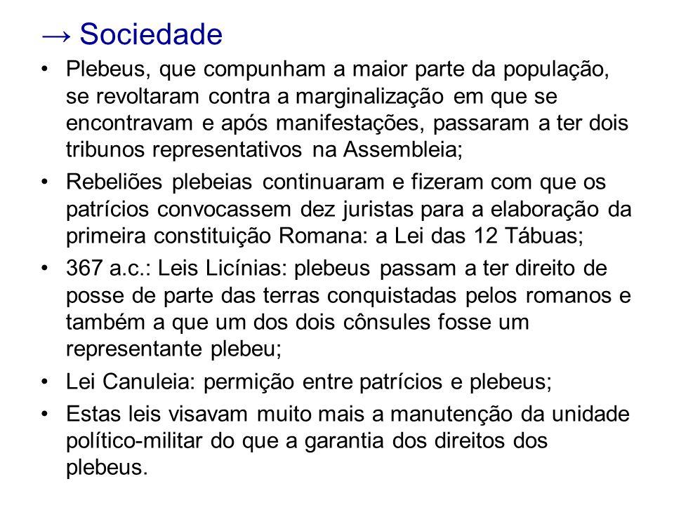 → Sociedade
