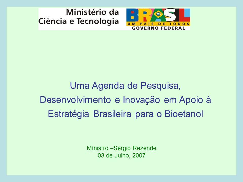Mínistro –Sergio Rezende 03 de Julho, 2007