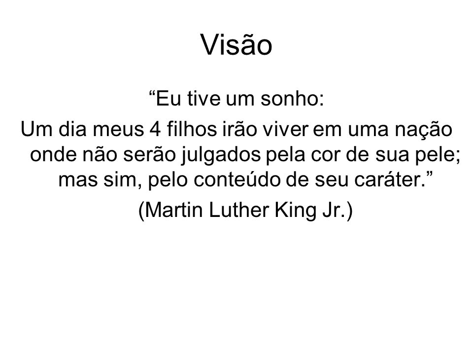 (Martin Luther King Jr.)