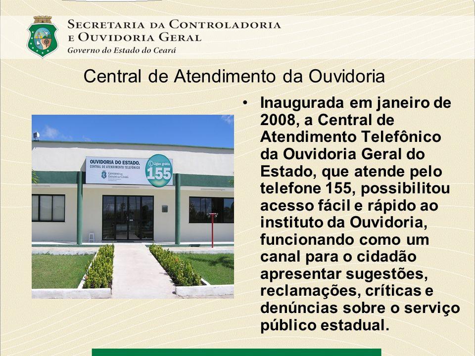 Central de Atendimento da Ouvidoria