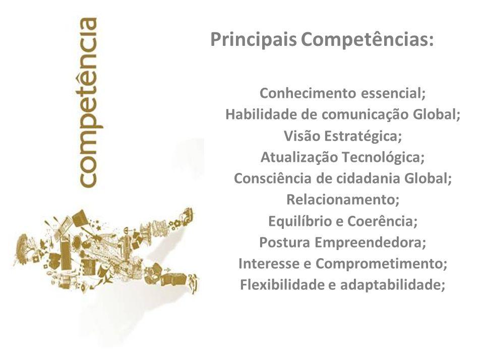 Principais Competências: