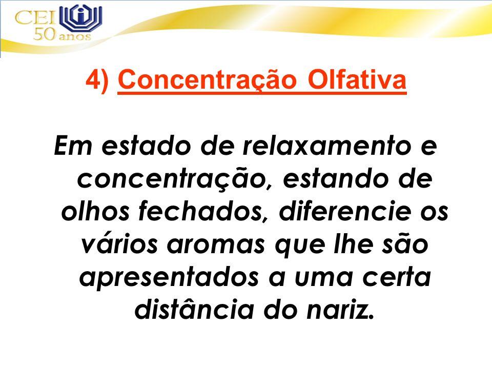 4) Concentração Olfativa